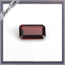 Octagon Emerald Cut Natural Garnet Gemstone for Gift