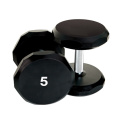 5 LB Urethane Hex Dumbbell