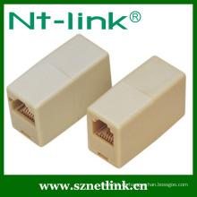 NT-Link Cat5e UTP acoplador de cable rj45