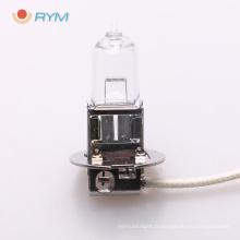 h3 12v 55 w voiture / auto ampoule halogène avec ampoule pk22s h3