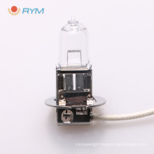 h3 12v 55w car/auto halogen bulb with pk22s h3 bulb