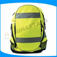 Желтый Светоотражающий пакет с отражающей лентой