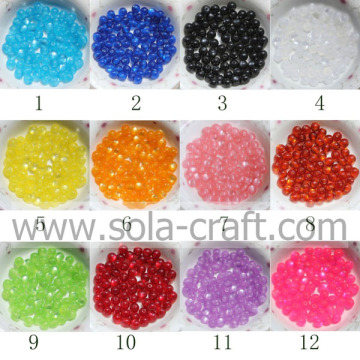 Mode bal ronde hars Cat's Eye sieraden Spacer kralen met gemengde kleuren 6MM 500pcs