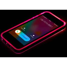 2015 mais novo LED Flash Lighting Cell Phone Case para o iPhone 6