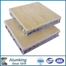 Panneau en nid d'abeille en marbre pour matériaux de construction