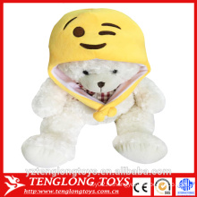 Высокое качество милый смешной emoji плюшевый emoji hat