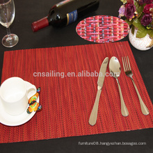 1*1 encryption and heat insulation high quality PVC placemats