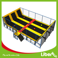 China Professionele Dodgeball Indoor Trampoline Park