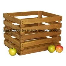1/2 Peck manchado madera cajón Natural