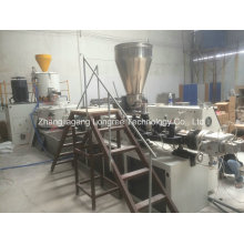 PVC Edge Banding High Glossy Wood Grain Edge Extruder with One Mould, Four Strips for PVC Edge Banding Extruder