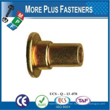 Made in Taiwan Shoulder Rivet Brass Stainless Steel Aluminum Carbon Steel Material