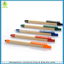 Papel reciclado promocional de Nova chegada touch pen