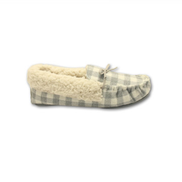 fluffy moccasins house shoes for womens
