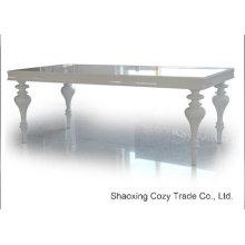Table à manger pliante à bois moderne