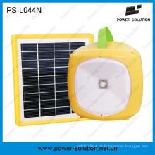 Portable 3.7V / 2600mAh Lithium-Ionen-Solar-Akku wiederaufladbare LED Solarleuchte mit Telefon für Zimmer aufladen