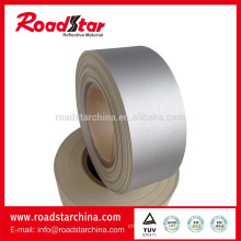 Waterproof reflective artificial PVC foam leather