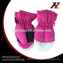 Comfortable breathable and waterproof ski glove