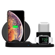 3 в 1 телефон часы Airpods беспроводное зарядное устройство