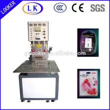 Soldador de plástico de alta freqüência para soldagem de PVC PET