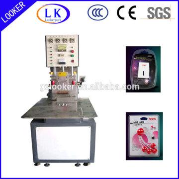Soudeuse en plastique à haute fréquence pour le soudage PVC PET