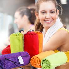 2018 OEM new products Microfiber Suede sport towel
