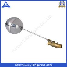 Soupape à bille en laiton avec bille en acier inoxydable (YD-3013)