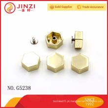 Hexagonal liga de zinco rebites e pregos com boa qualidade