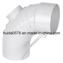 Molde de injeção / cotovelo de molde ondulado com porta