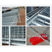 Hot-dipped high quality temporary fence