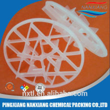 PE PP Plastic Snowflake ring packing for waste water treatment plant
