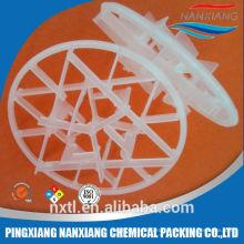 ПЭ ПП Пластиковые Снежинка кольцо упаковки для завода по обработке сточных вод