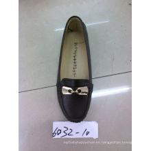 Zapatillas clásicas Comfort Lady con suela plana TPR (SNL-10-013)