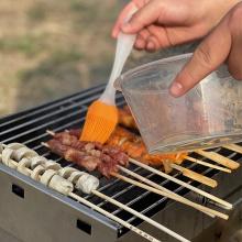 Прямоугольная сетка для барбекю с антипригарным покрытием