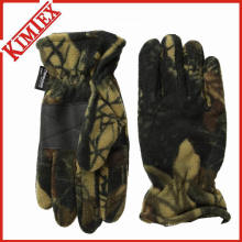 Winter Unisex Promotion Camo Polar Fleece Glove