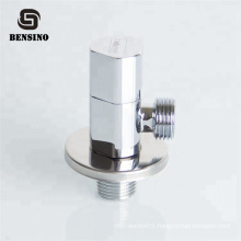 Chrome Plated Hand Control Sink Faucet Water Inlet Angle Valve For Washing Machine