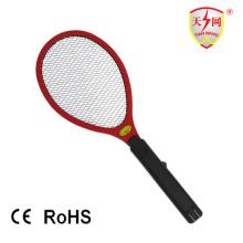 Raquette de moustique électronique rechargeable chaude de deux couches avec du CE / RoHS (TW-05)