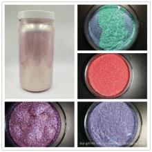 Pigmento perlado del pigmento perlado de grado cosmético utilizado en la barra de labios