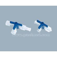 Llave de 3 vías plástico médico