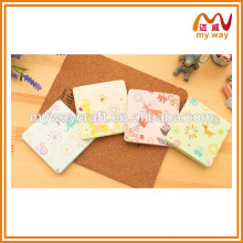 Kawaii stationery series of mini notepad with sticky note of new products 2016
