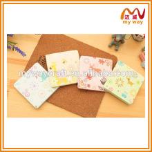 Kawaii papelaria série de mini bloco de notas com nota adesiva de novos produtos 2016