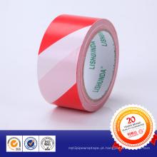Fita adesiva de advertência de PVC Fita adesiva colorida para cliente