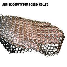 Anneau de sûreté en mailles d'acier inoxydable à petite taille Safe Oem