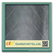 Fashion Popular Plain Embroider Designs 100 Polyester Suede Fabric with T/C Backing for Sofa