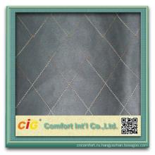 Мода популярные простой вышивать дизайны 100 полиэстер замши ткани Т/C подпирая для диван