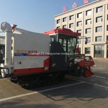 330mm Min.ground clearance crawler rice combine harvesting
