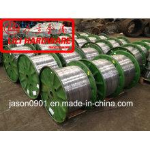 Fil, fil d'acier, fil de zinc, fil d'acier galvanisé
