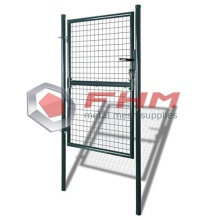 Svetsad Mesh Metal Single Gate