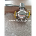 Sanitary Stainless Steel Clamped Butterfly Ball Valve