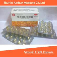 Cápsula blanda de 30 PCS Vitamina E
