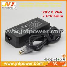 Manufacturer For Lenovo Ibm Laptop Adapter 20v 3.25a 65w